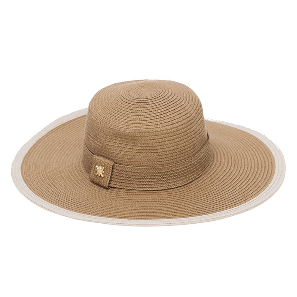 chapéu jurerê uv line - chapéu feminino kaki. Carregando zoom. a5c9f012236