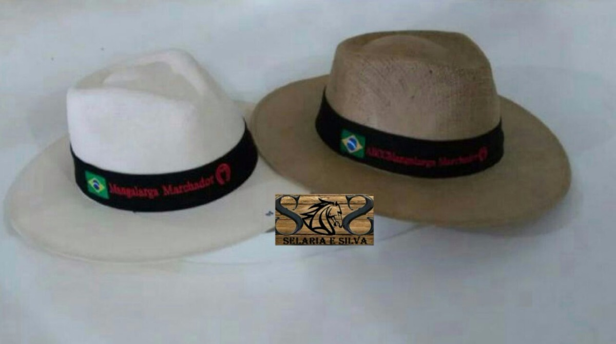 chapéu juta promocional 2 unidades sem frete mangalarga!!!!! Carregando  zoom. 6199b664cda