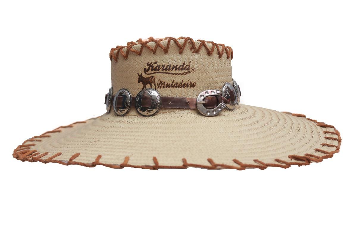 b446d0f459b91 chapéu karandá - carandá muladeiro tam único palha original. Carregando  zoom.