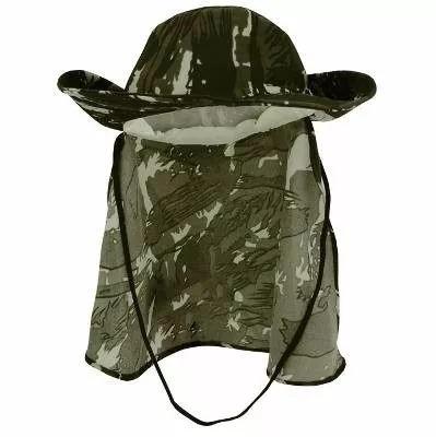 9ab8e2a855 Chapeu Liso Pescador Com Protetor Nuca Escolhe Cor - R$ 14,29 em ...