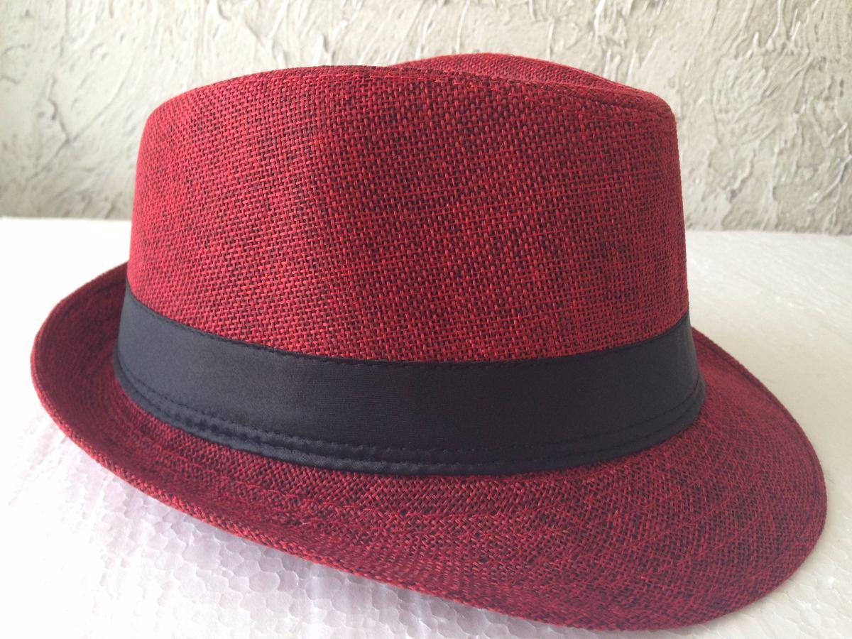 1d7b3db9eccbf chapéu malandro carioca infantil tecido vermelho aba curta. Carregando zoom.