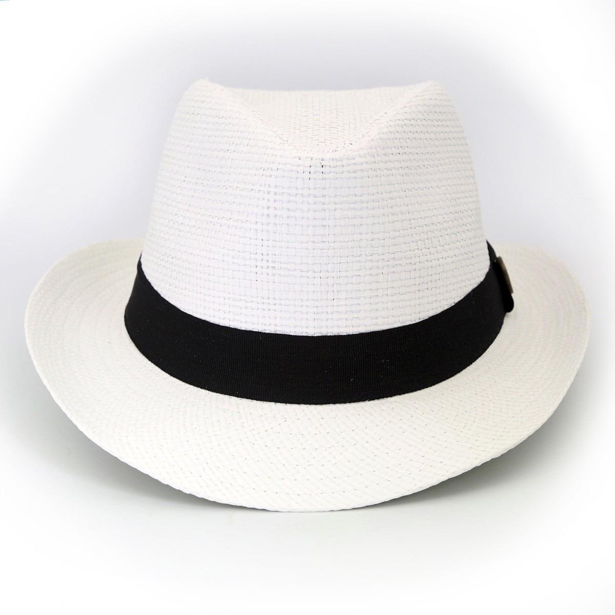 21b473a615a38 Chapéu Malandro Praiano Tipo Panamá Masculino feminino - R  27