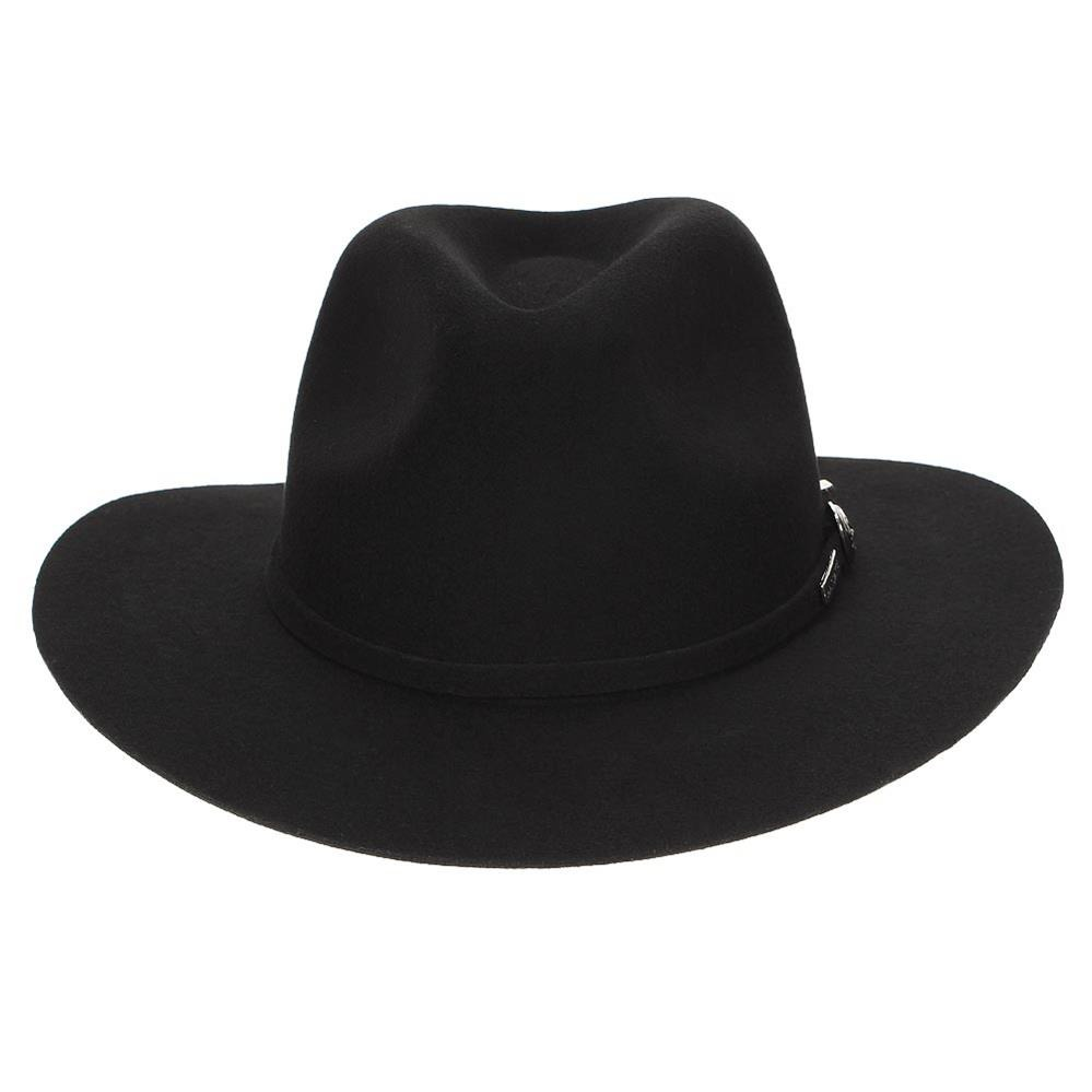 chapéu marcatto feltro 100% lã preto 18371. Carregando zoom. 8de23b7f1b8