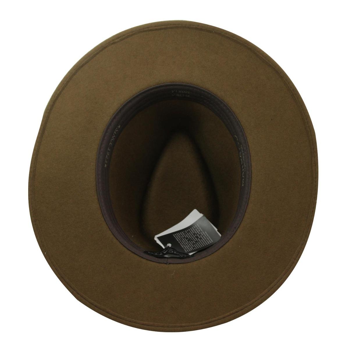 Chapéu Marcatto Outback Dallas-marrom-tam 56 - R  152 395b2aec422