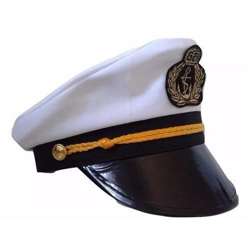 chapeu marinheiro comandante marujo capitao quepe boina