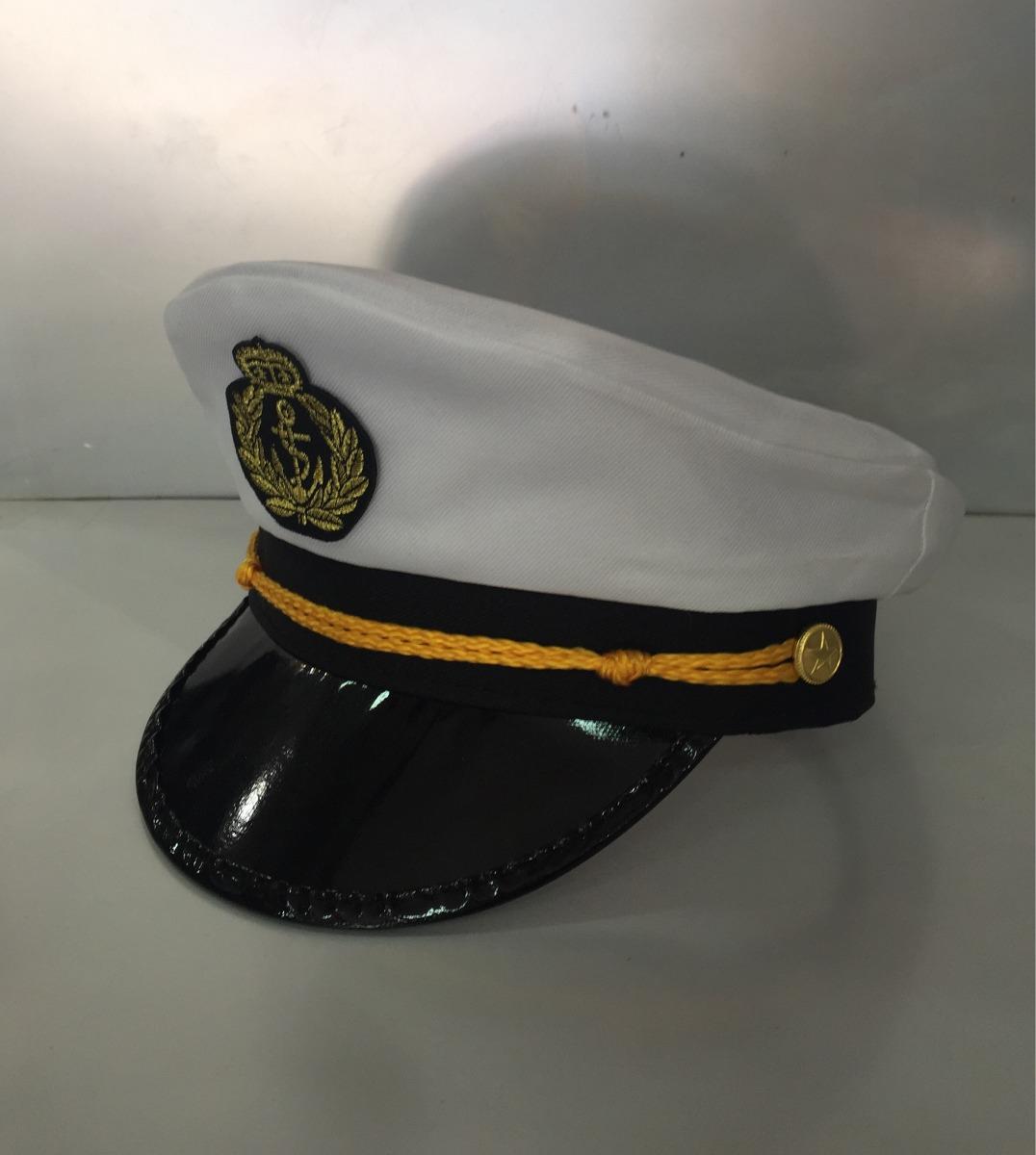 7874f084ebb85 chapéu marinheiro quepe boina capitão fantasia festa cosplay. Carregando  zoom.
