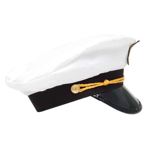 chapéu marinheiro quepe boina capitão fantasia festa cosplay