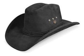 09404e7ea7 Chapeu Masculino Feminino Couro Country Cowboy Americano