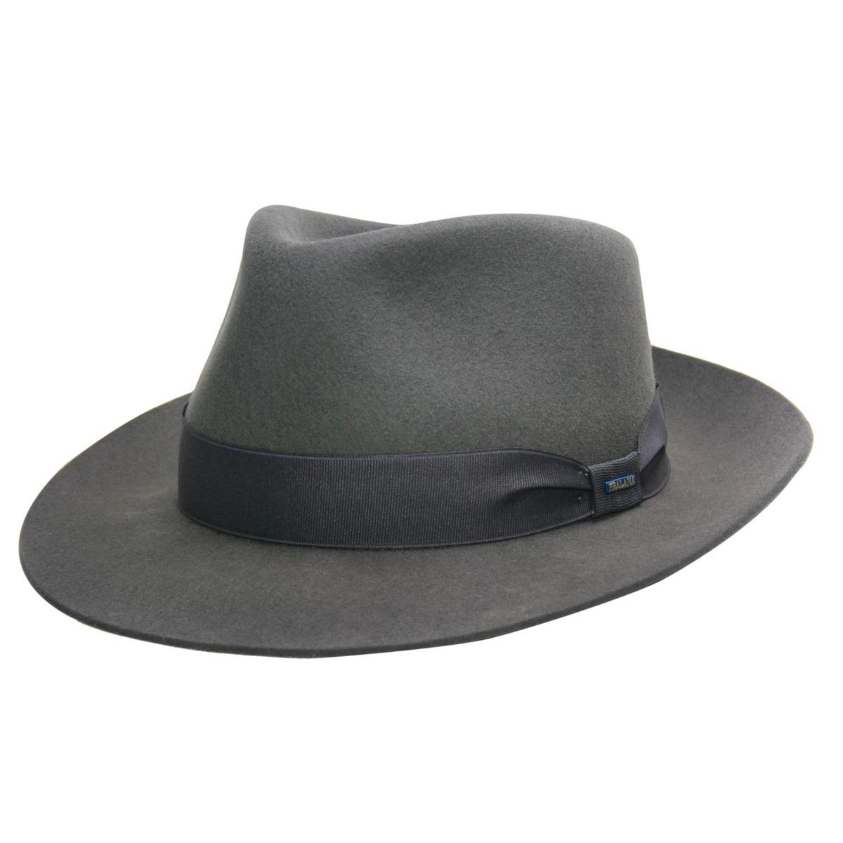 Chapéu Masculino Gangster Pralana Social Alpaca Cinza - Aba - R  169 ... 5b866a4cb9d