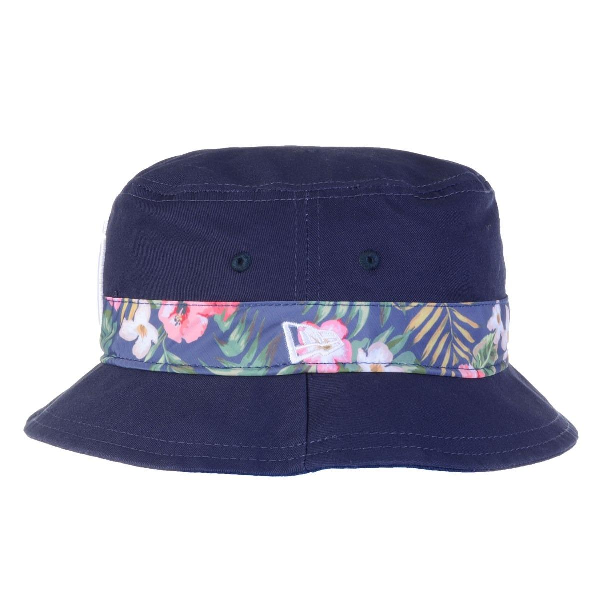 c591ed73a8 Chapéu Masculino New Era Bucket Print Vibe - Cor: Azul - Tam