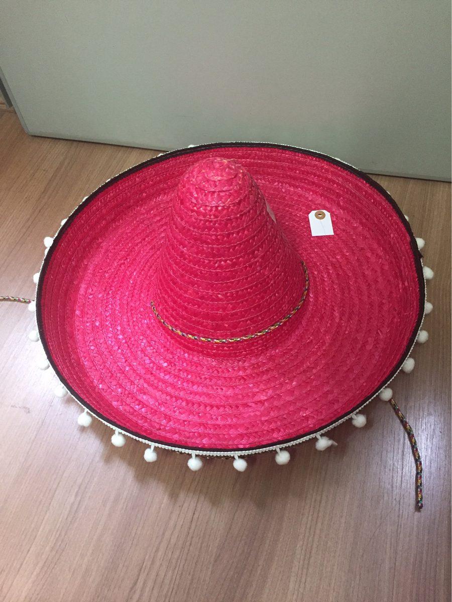 chapéu mexicano sombreiro de palha colorida. Carregando zoom. 6f4e5aed1ee