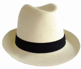 16aad92fb Chapeu Panama Palha - Chapéus no Mercado Livre Brasil