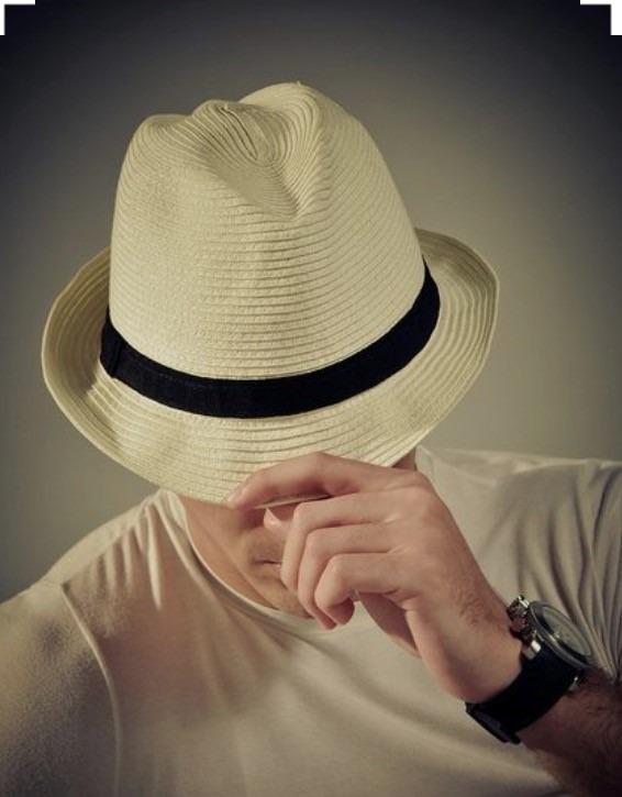 dfe368a6294e5 Chapéu Moda Panamá Moda Praia Casual Masculino Feminino - R ...