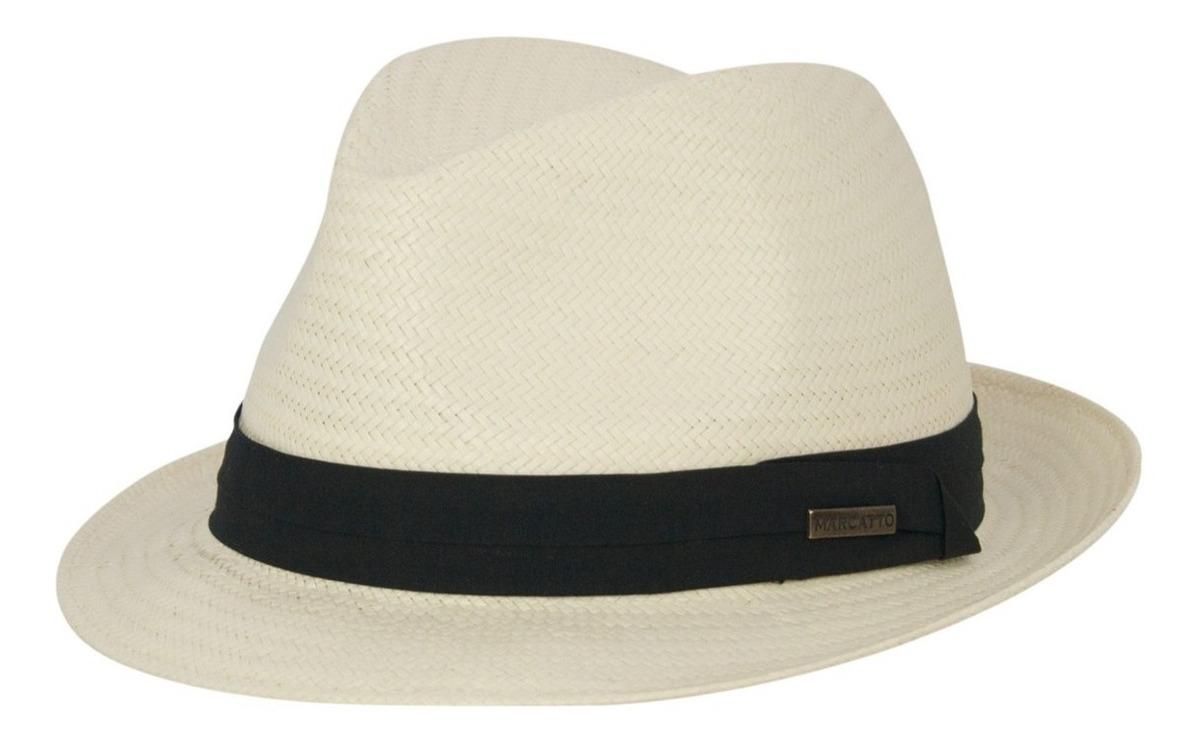 75aa991df0 Chapéu Pagodeiro Fedora Aba Curta Marcatto - R$ 159,90 em Mercado Livre