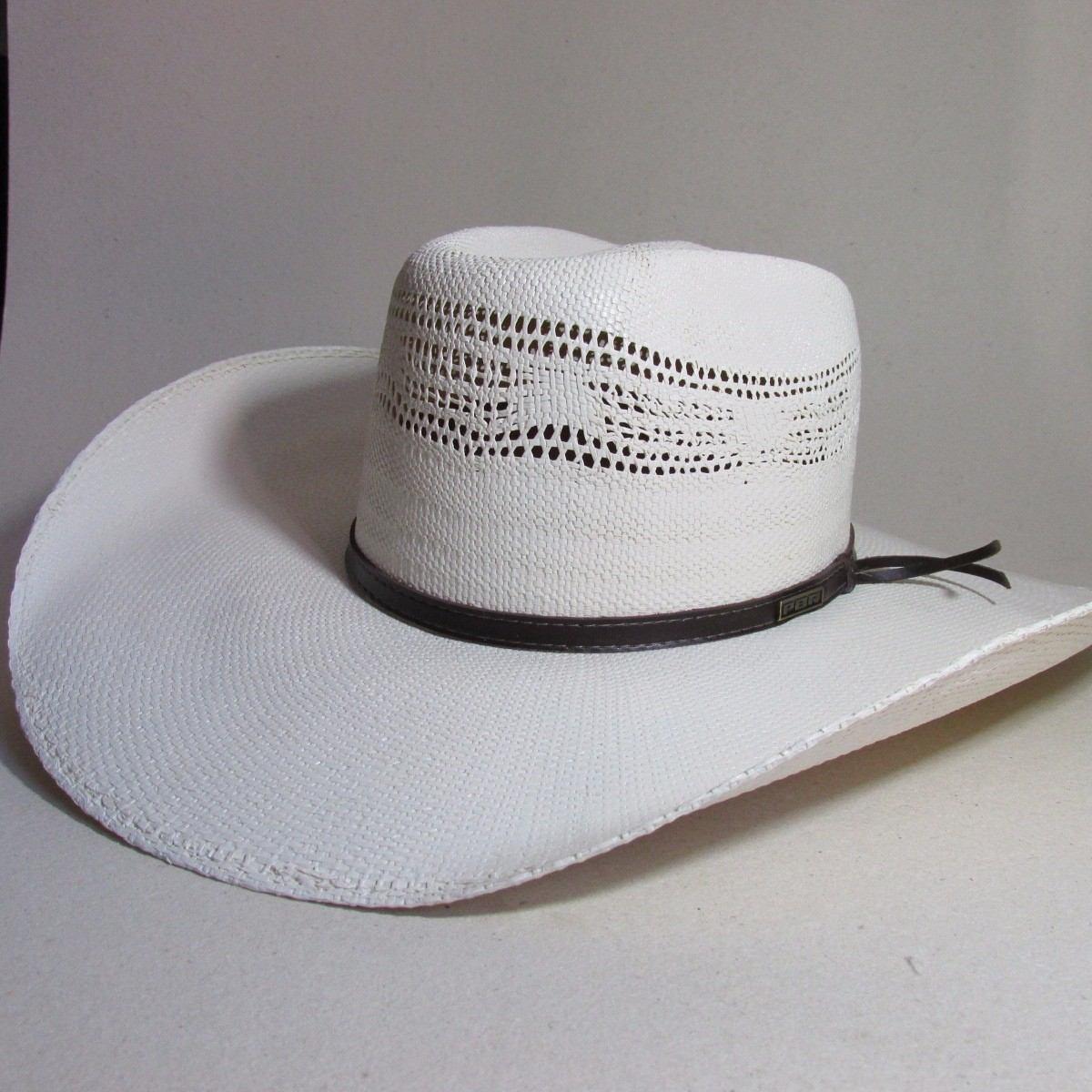 1a549a7cfec38 chapéu palha bangora pbr country aba12cm cor marfim tam 56. Carregando zoom.