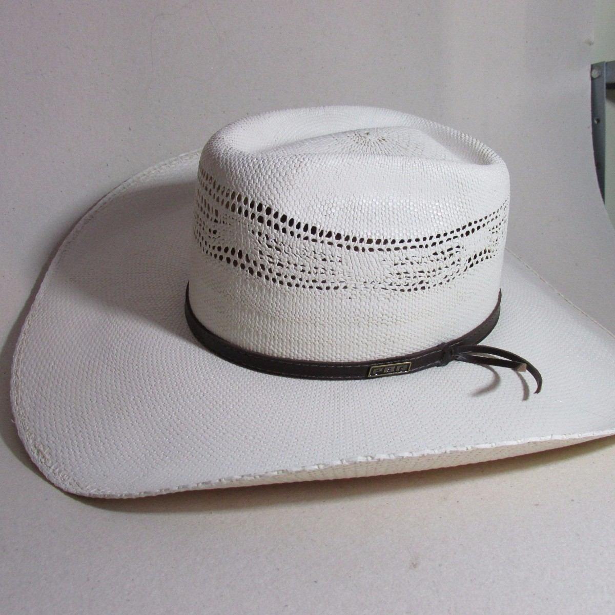 8d3713fc1afa5 chapéu palha bangora pbr country aba12cm cor marfim tam 57. Carregando zoom.