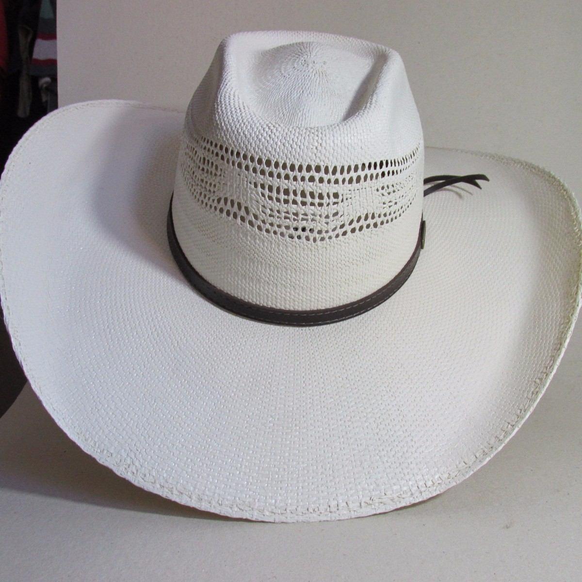 chapéu palha bangora pbr country aba12cm cor marfim tam 57. Carregando zoom. d3c51ea2e2a
