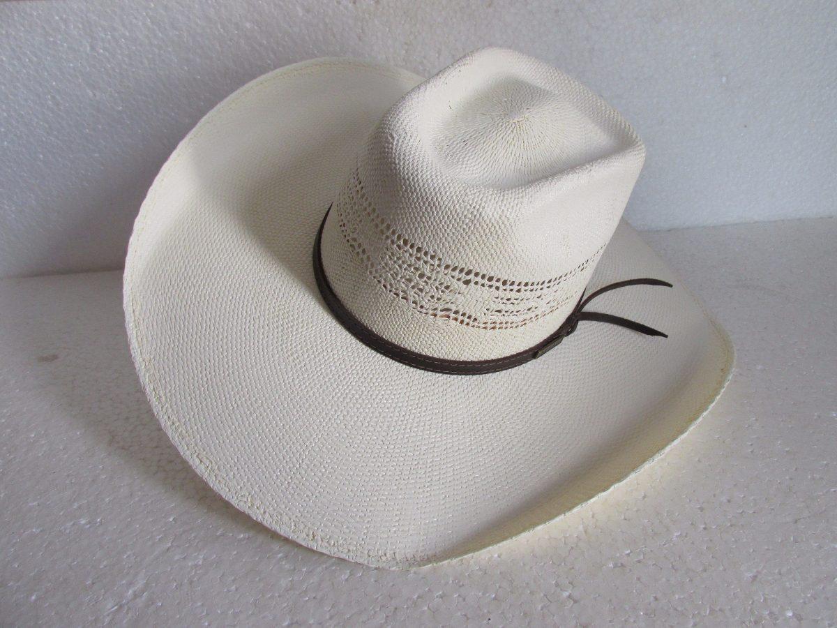 e68432ade4a4c chapéu palha bangora pbr country aba12cm cor marfim tam 58. Carregando zoom.