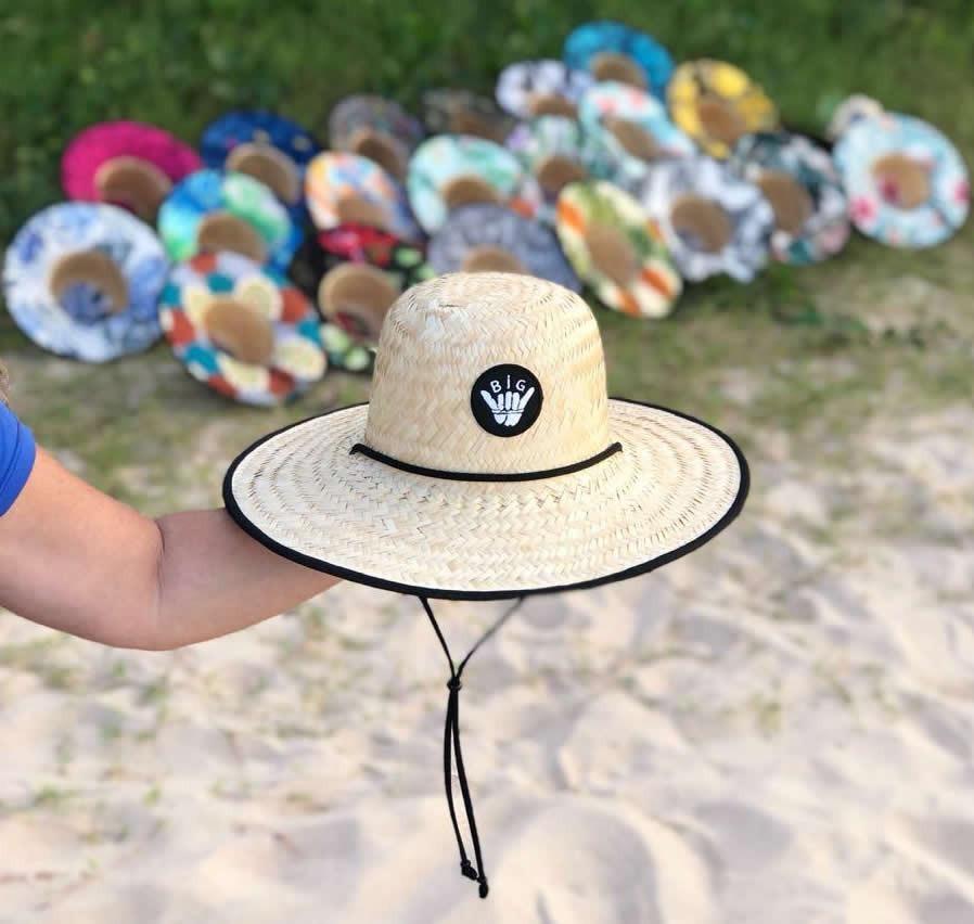 b509ad3849bd3 chapéu palha surf estampado praia promoção melhor qualidade. Carregando  zoom.