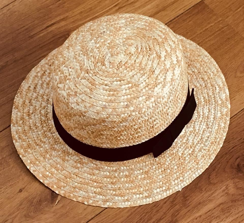 b8ebb3afa chapéu palheta aba curta palha pork pie de palha. Carregando zoom.