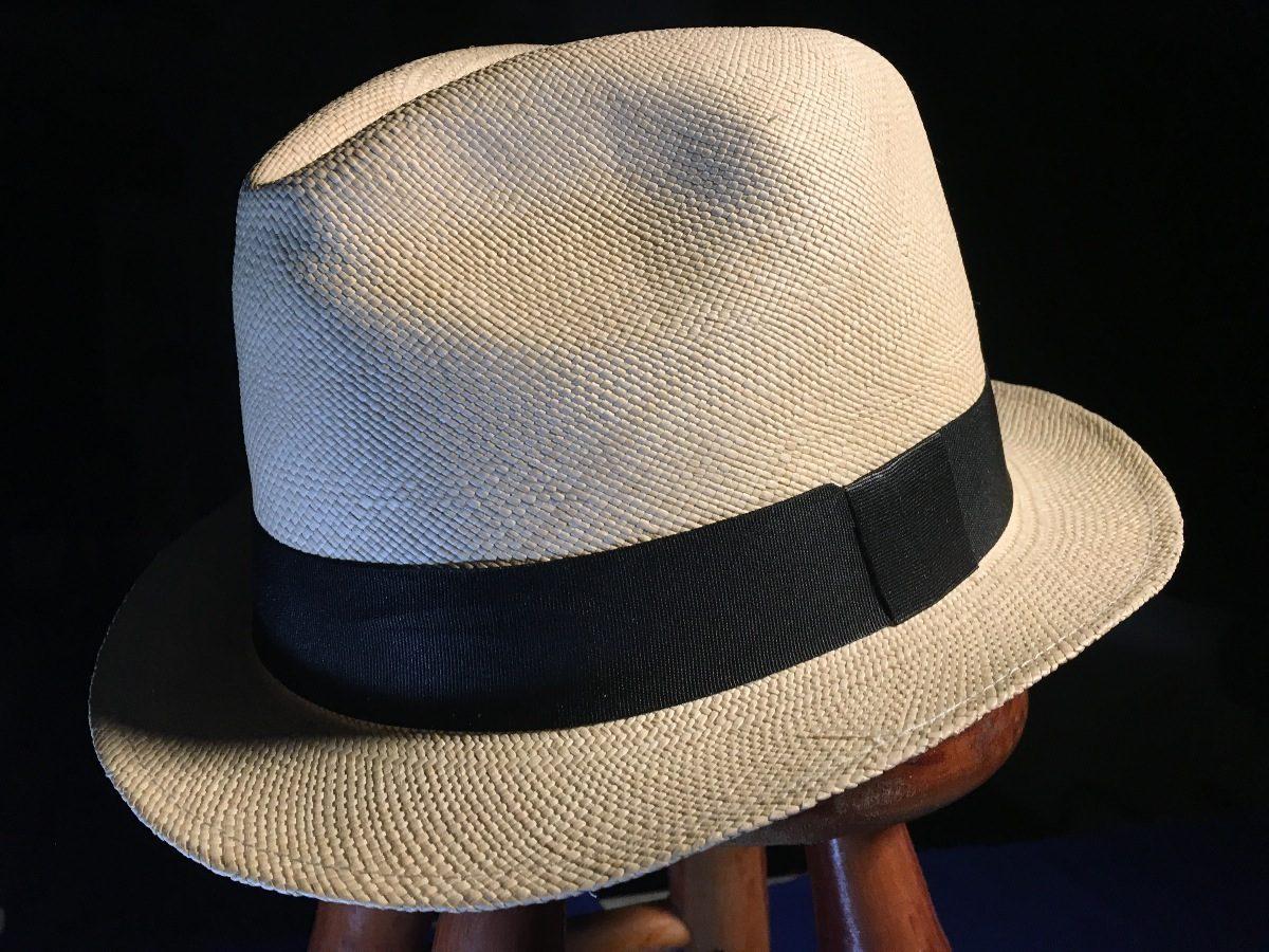 da165ca1ec5f4 chapeu panamá 100% palha toquilla unisex tam. 62 cor beige. Carregando zoom.