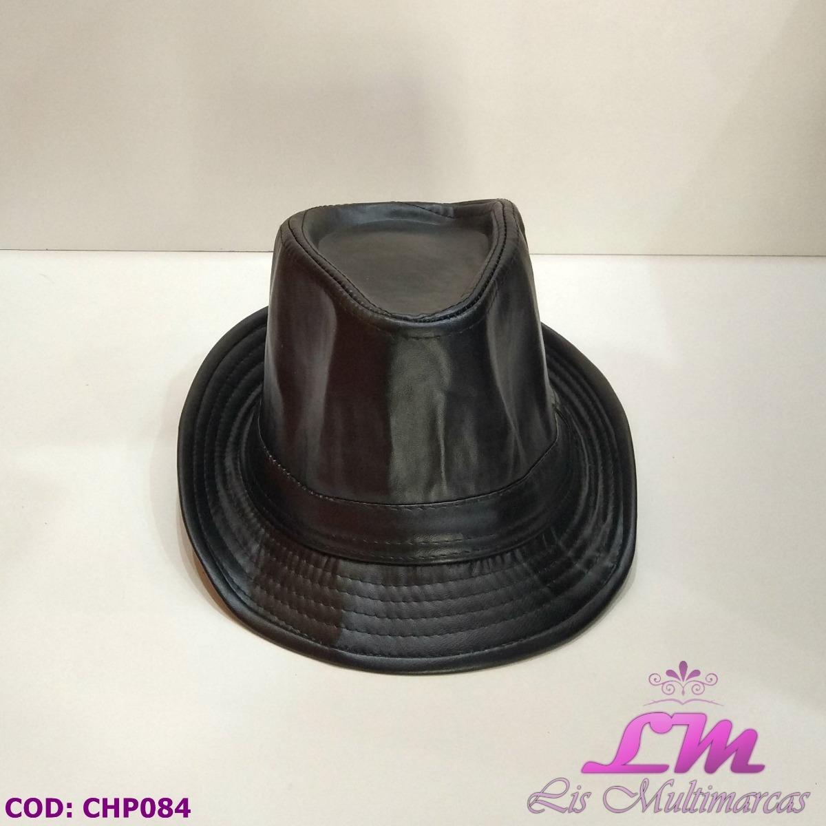 chapéu panamá estilo couro preto - tamanho 58. Carregando zoom. 2dd0d98c407