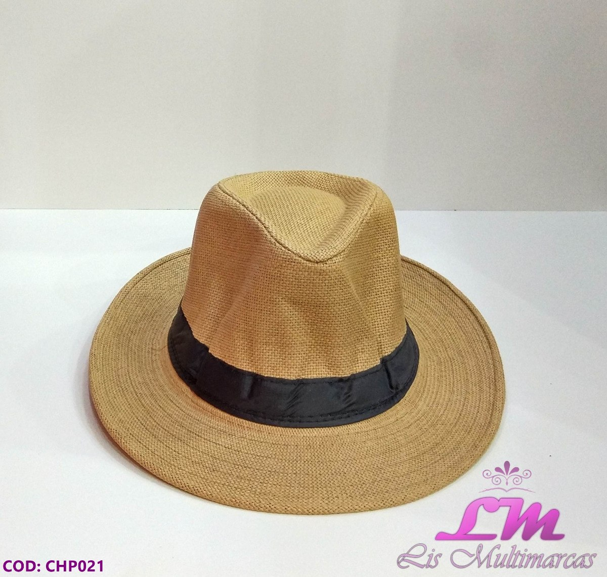 d59dad7f3b033 chapéu panamá fedora bege (caramelo) - tamanho 58 aba grande. Carregando  zoom.