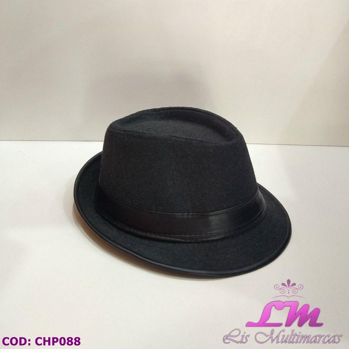 chapéu panamá fedora preto feltro - tamanho 58. Carregando zoom. 06cc72eea5b
