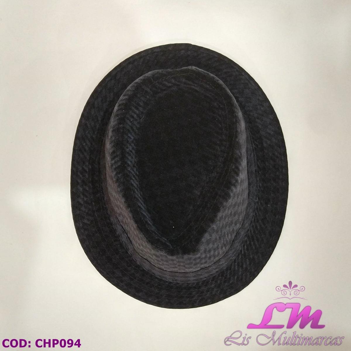 chapéu panamá fedora preto - quadriculado - tamanho 58. Carregando zoom. 7ece1729f34