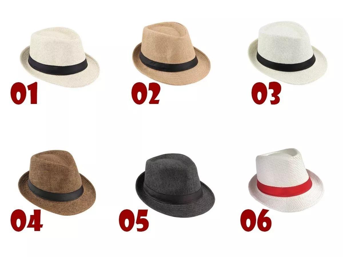 Chapéu Panamá+gravata Lisa+ Lenço Branco+ Suspensório Adulto - R  53 ... 95be59c44af