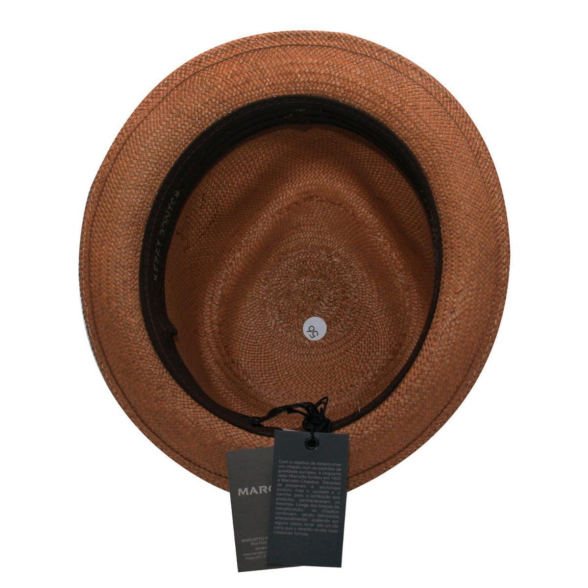 26c5d4c8b3d01 chapéu panamá marcatto-marrom-tamanho 56. Carregando zoom.