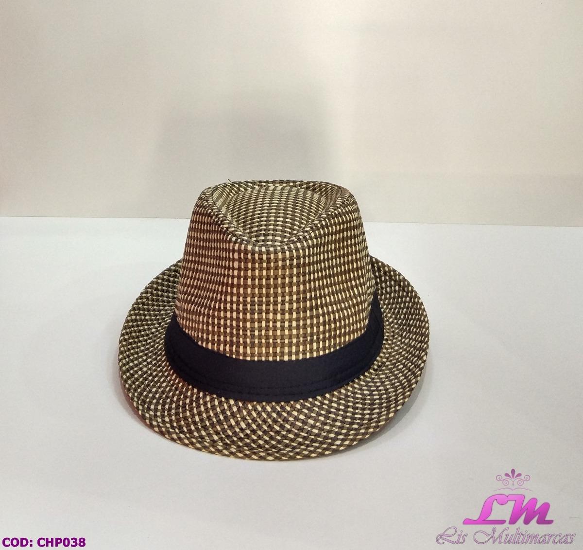 chapéu panáma marrom quadriculado trançado - tamanho 57. Carregando zoom. d96c1897f4e