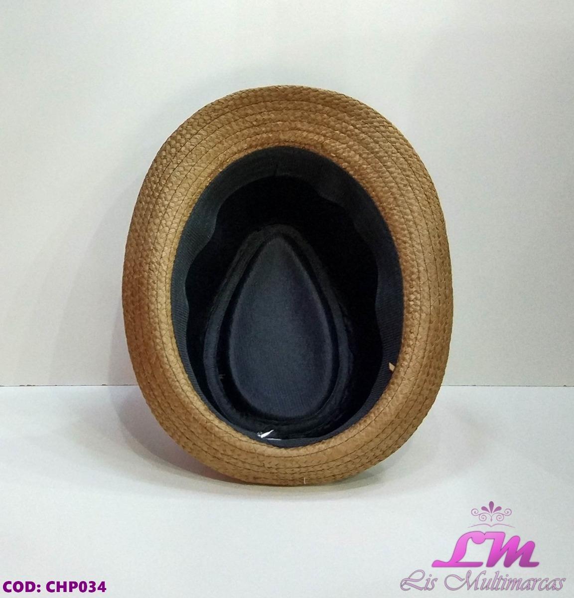 chapéu panamá marrom - tamanho 56-57. Carregando zoom. fcf9db06937