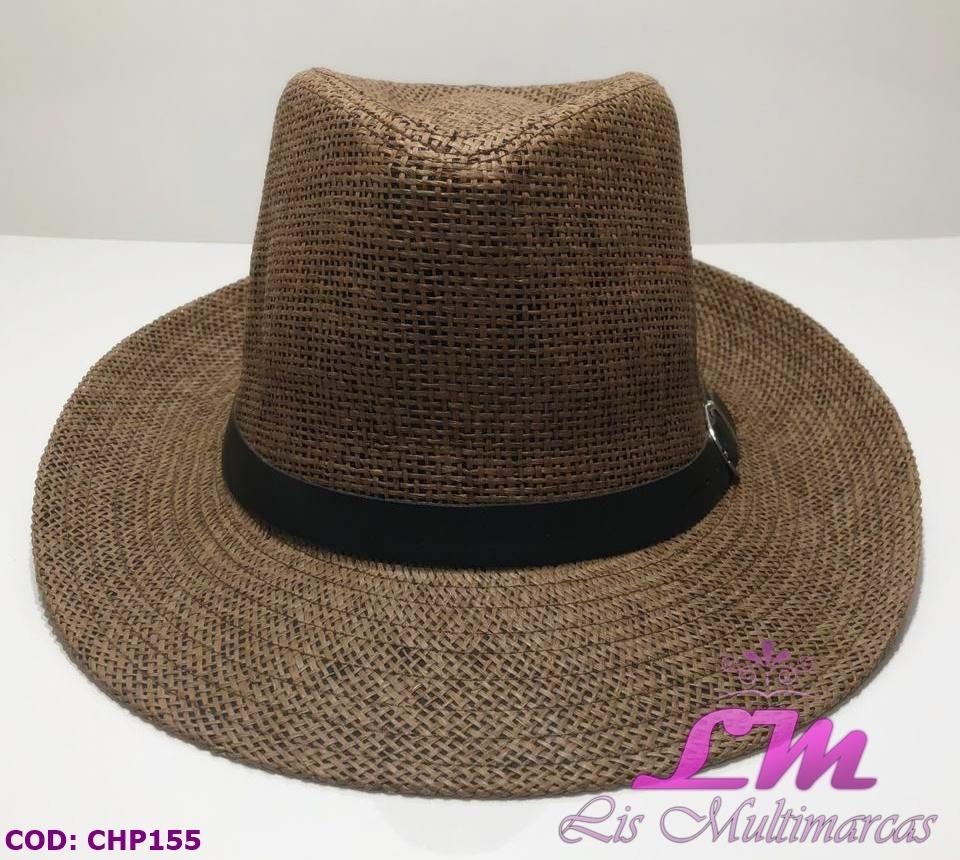 chapéu panamá marrom - tamanho 57 - aba grande com fivela. Carregando zoom. cc8267f43b0