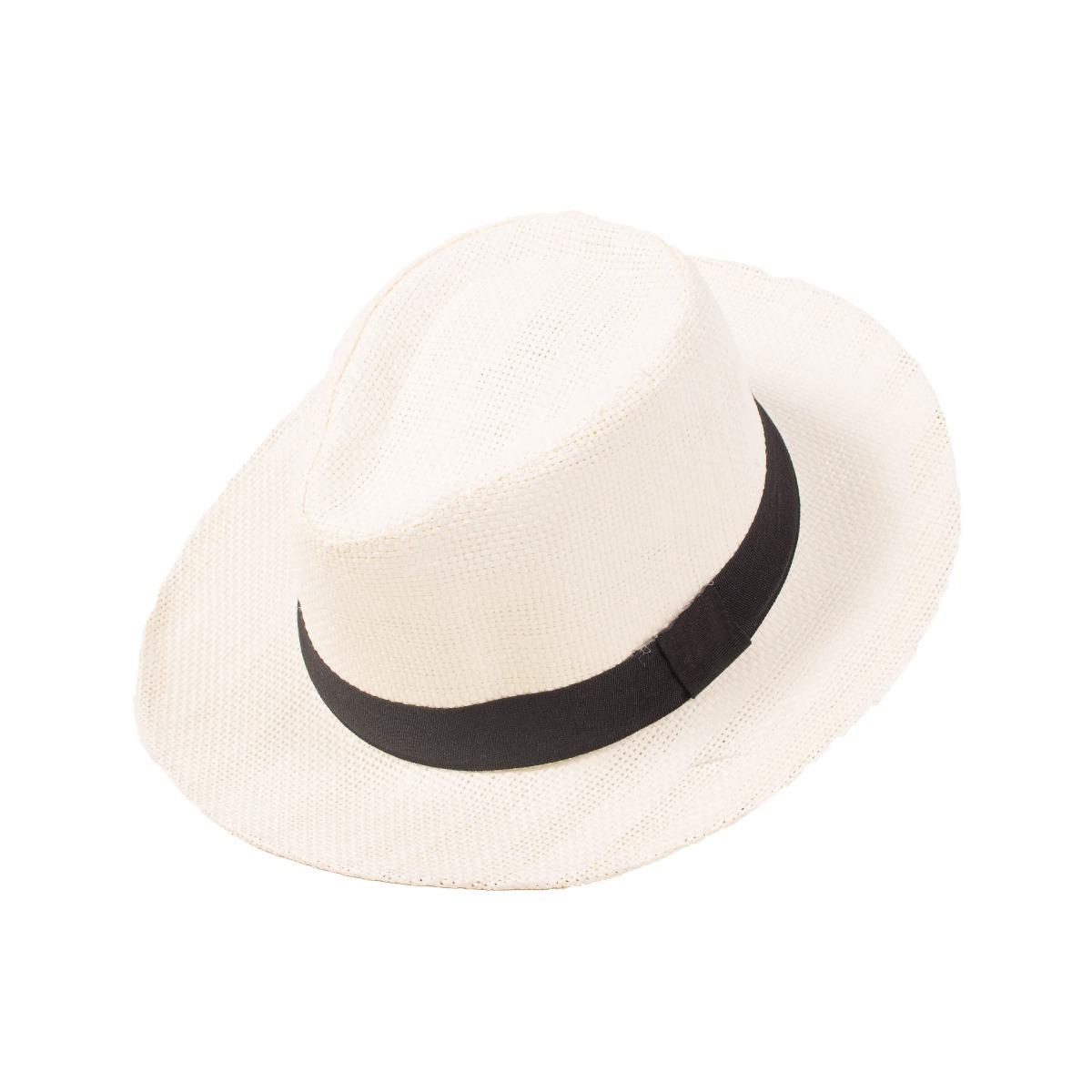 chapéu panamá moda casual praia feminino masculino aba larga. Carregando  zoom. 83098d1e6e7