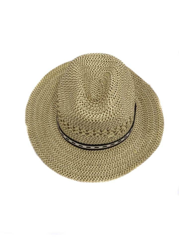 Chapéu Panamá Na Cor Nude Detalhe Em Tecido Na Cor Preto - R  49 87e01472e62