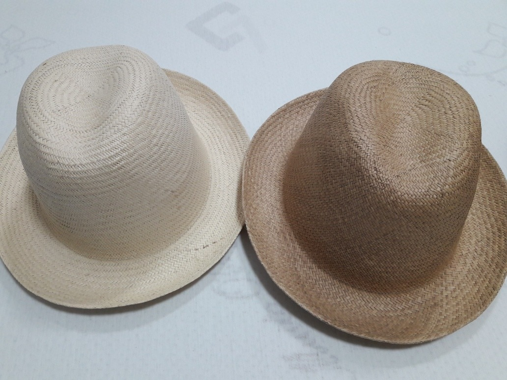 chapéu panamá original equador 100% paja toquilla. Carregando zoom. 70b7598ebce