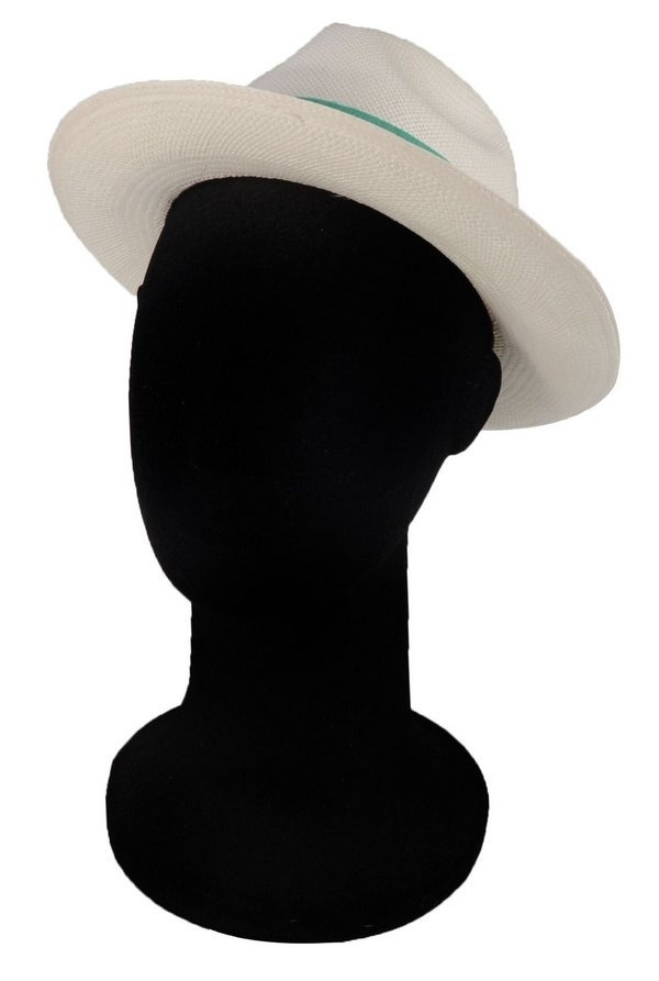 chapéu panamá original palha top clássico faixa verde água. Carregando zoom. 135f80aba93