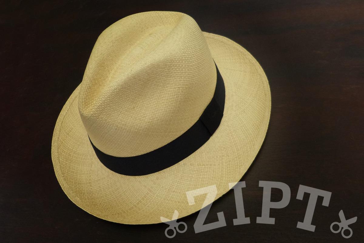 Chapéu Panamá Original - Promoção De Natal - Loja Zipt - R  129 b3c0f9e5576