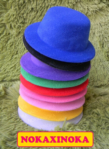chapéu para boneca blythe * pullip * dal *  varias cores