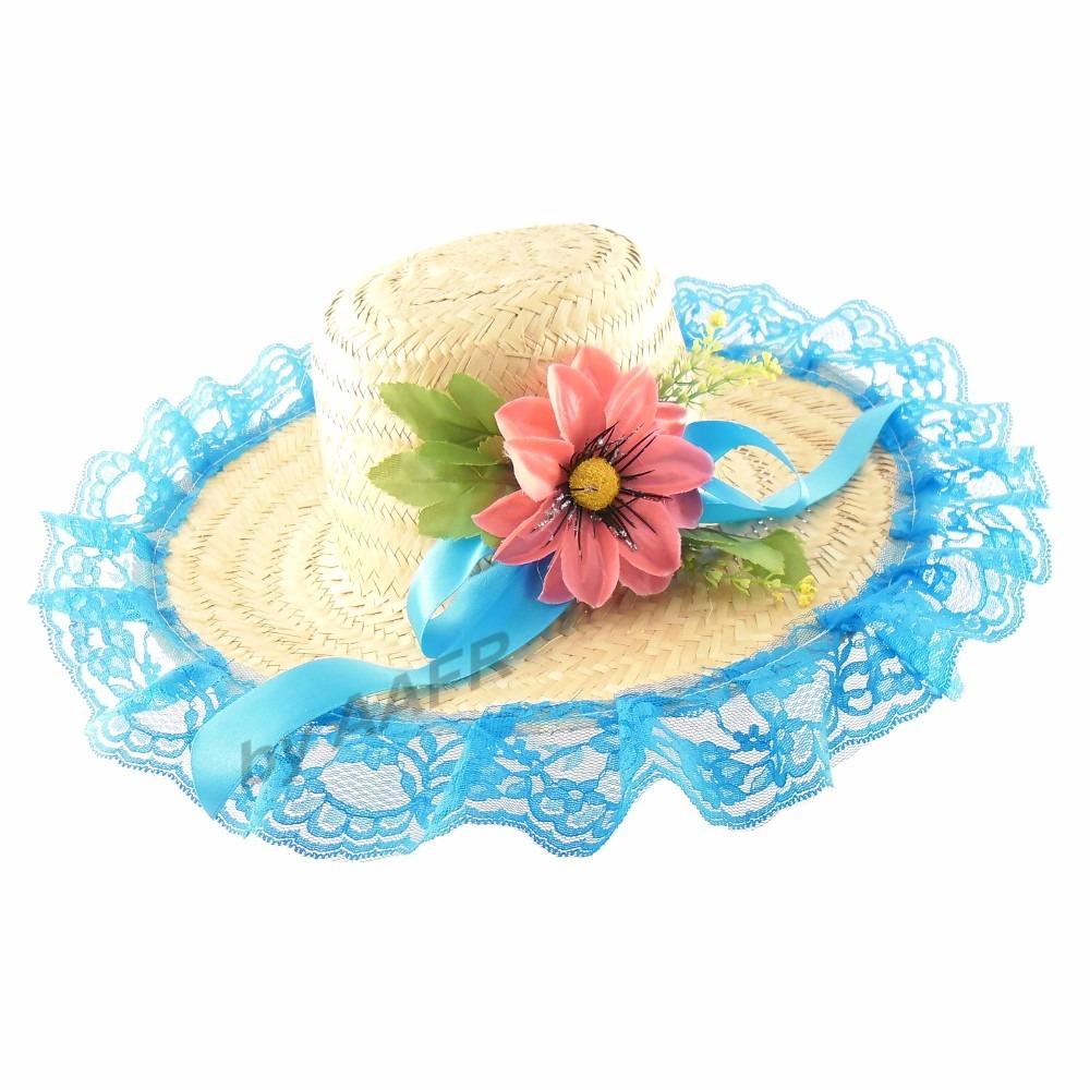 bc3d3de747 chapéu para vestido junino fantasia festa junina caipira. Carregando zoom.