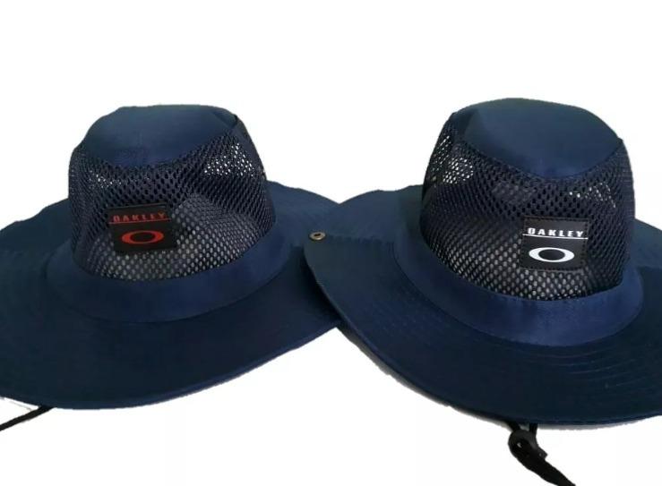 Chapéu Pescador Com Tela Oakley E Quiks Novidade Promoção - R  59 cfb4a656b69