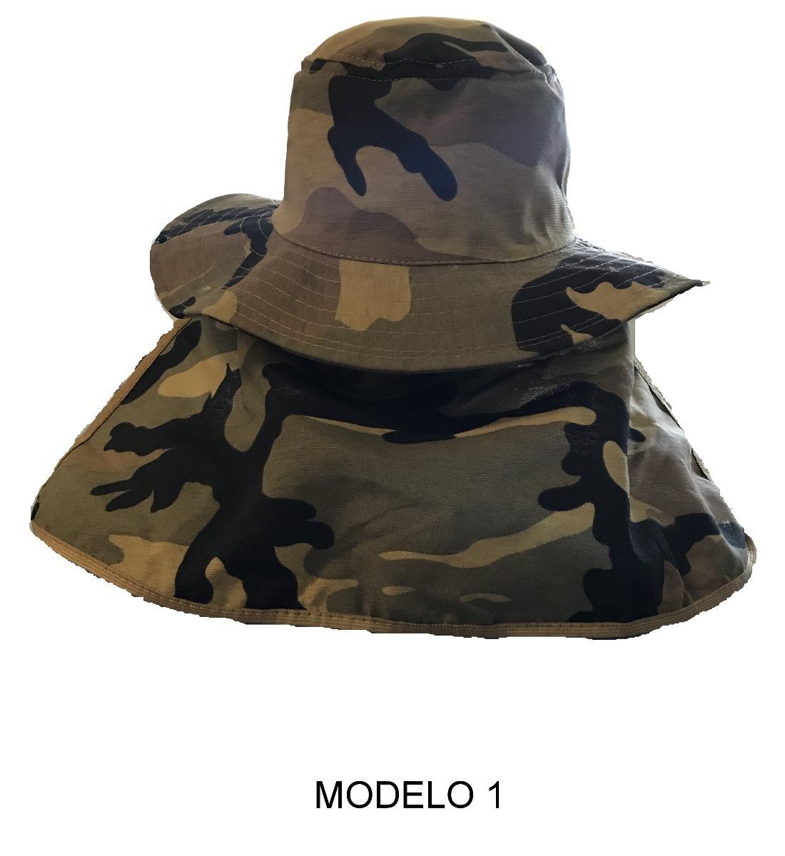 3c3889d448c1d chapeu pescador cores com protetor na nuca. Carregando zoom.