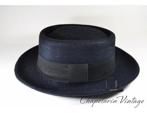 chapéu pork pie preto jazz blues