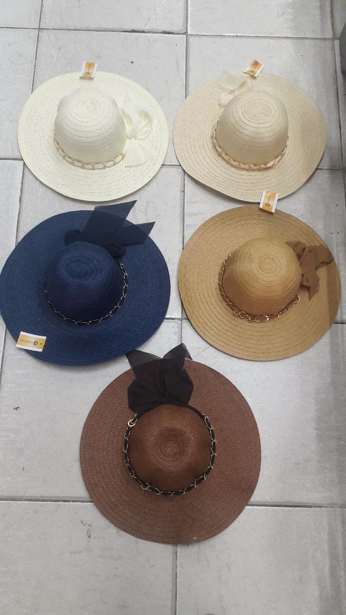 chapéu praia feminino aba larga. Carregando zoom. 351b6228d3f