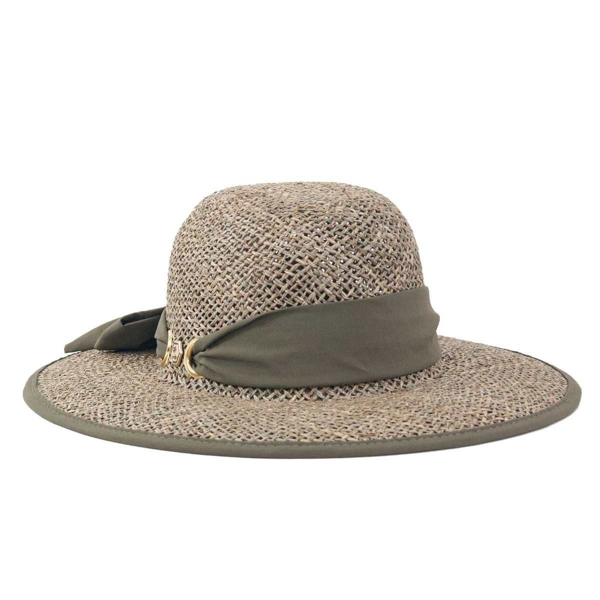 chapéu praia feminino de palha aba larga. Carregando zoom. 767d6a35b20