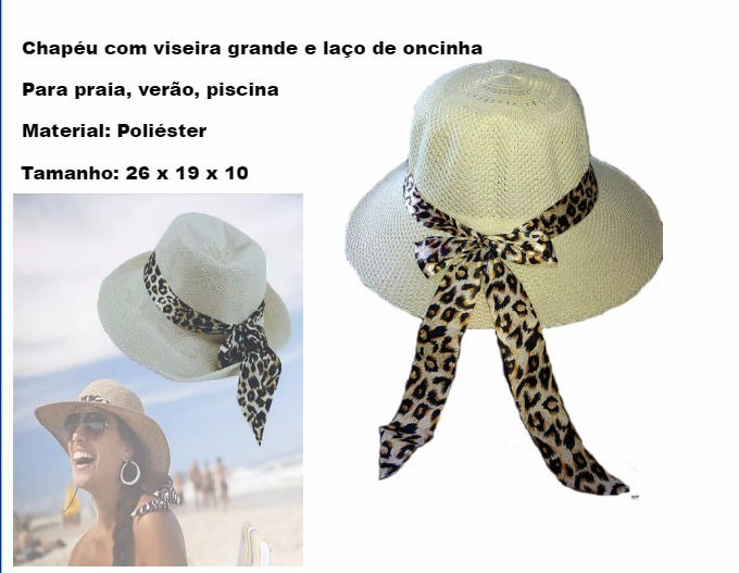 Chapéu Praia Feminino Floppy + Óculos Espelhado Redondo Moda - R  86 ... c5f1bb29546