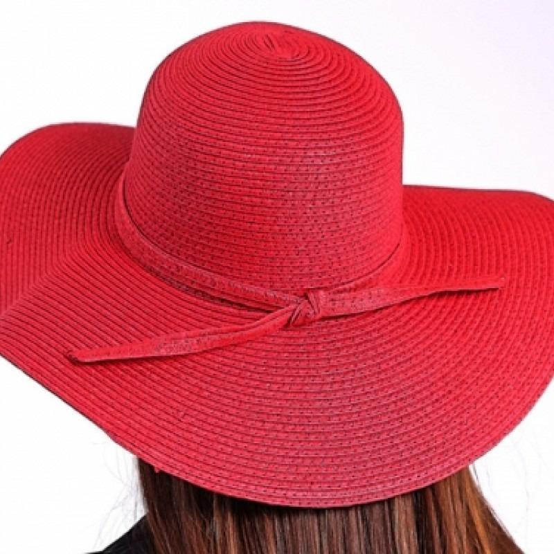 Chapéu Praia Feminino Vermelho Ideal Personalização Bordar - R  35 ... 821813f6f24