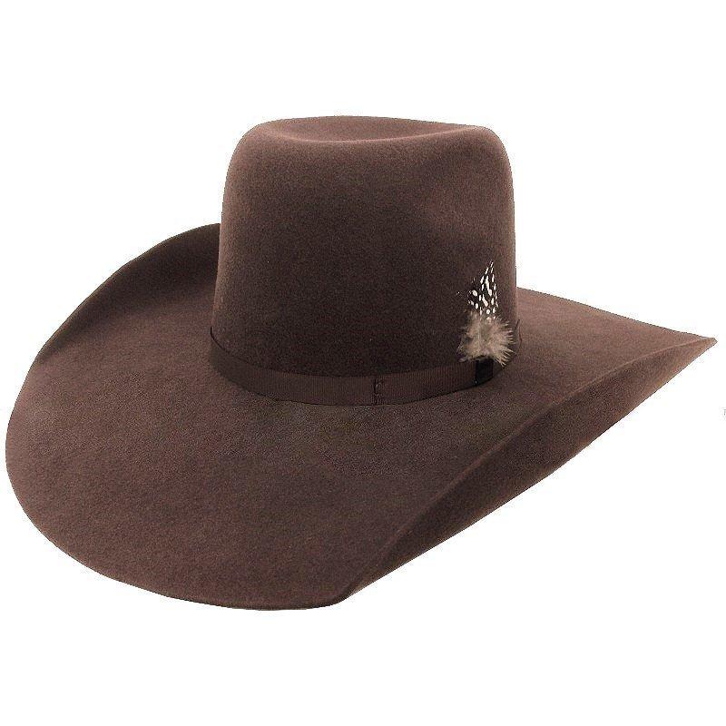 chapéu pralana bull rider felt marrom sem viés. Carregando zoom. 4202a1c269f
