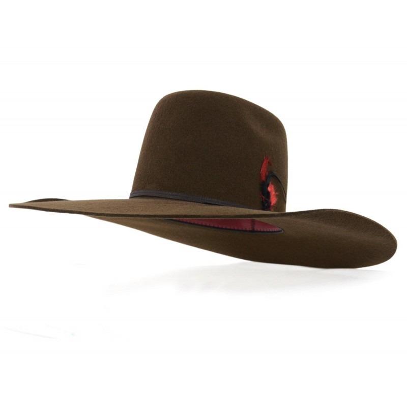 chapéu pralana champion biplay marrom e preto country aba 13. Carregando  zoom. 349c901a3b6